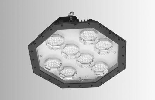 Kane High bay Lights – 465 mm diameter – Clear hardened glass
