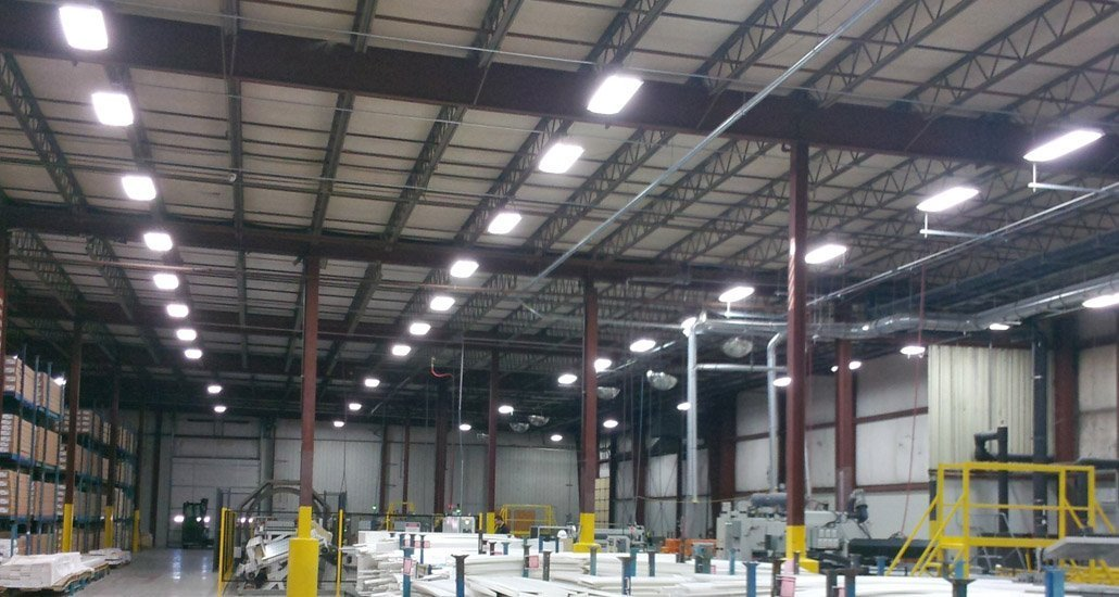 Led High Bay Lights Brightening Warehouses