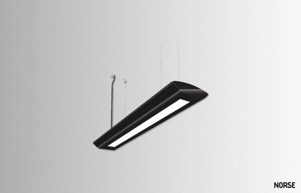 Lekki-suspension-linear-light-6ft-Black