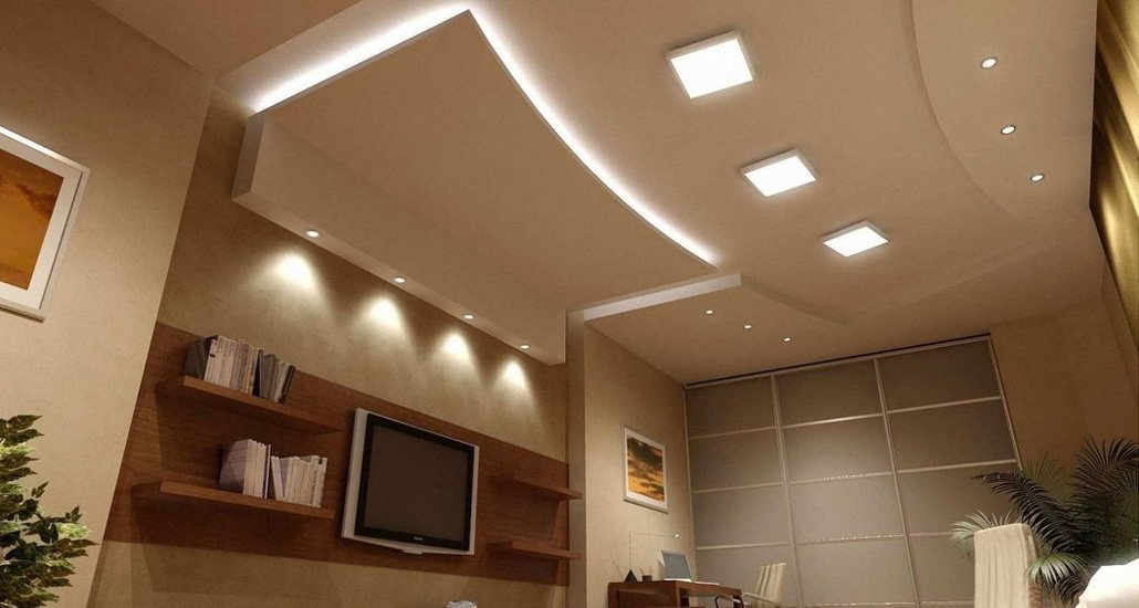 LED ceiling light for office & residential